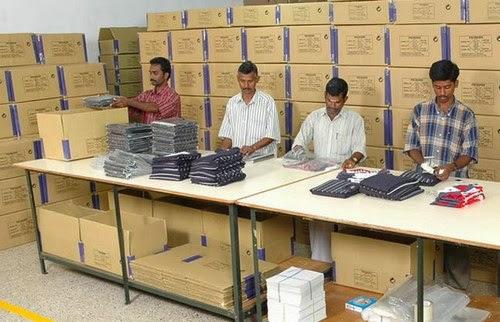 Garment Export Process