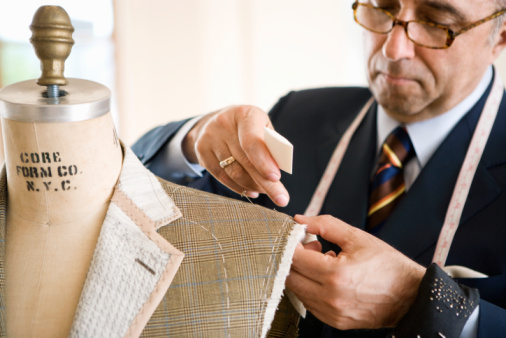 Men's Suits Manufacturing Process