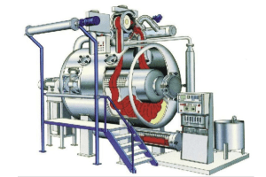 CVC Fabric Dyeing Process