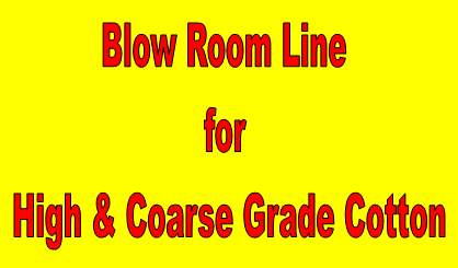 blow room line for