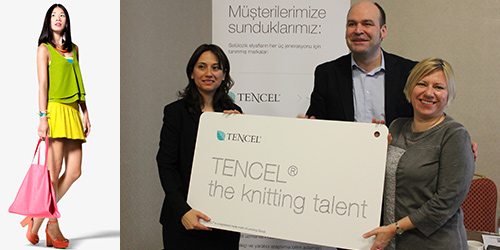 Lenzing -Istanbul press conference ; Hale Saraçoğlu, Andreas Dorner and Christina Kreuzwieser