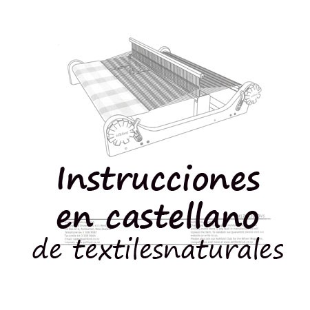 Assembly instructions in Spanish for rigid heddle loom Ashford