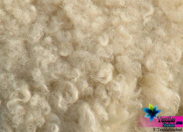 Percentage of impurities  in Wool fiber