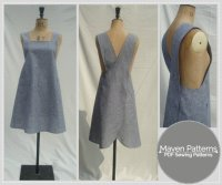 THE MARIA WRAP APRON | Textillia | Online sewing community ...