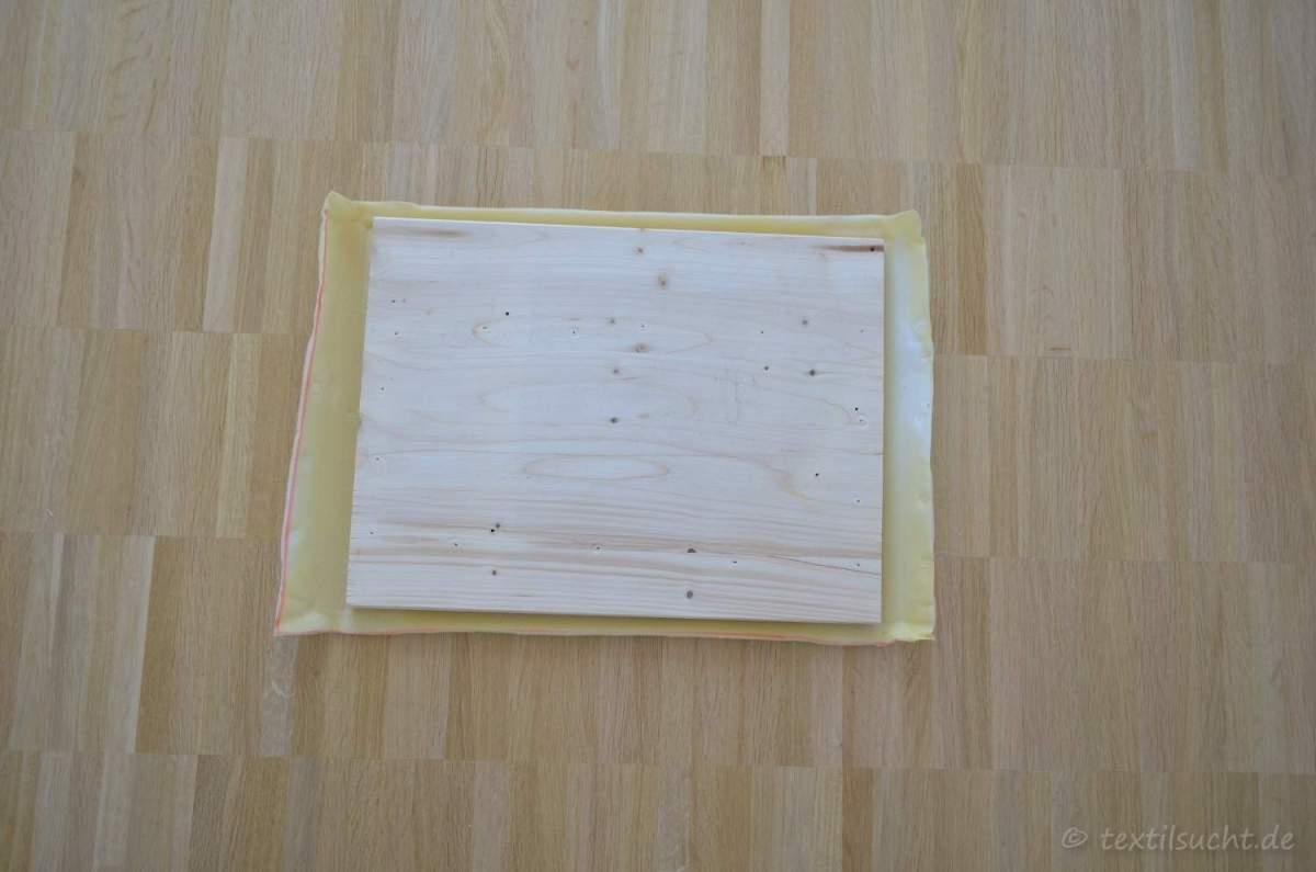 Kopfteil für's Bett selber bauen | textilsucht