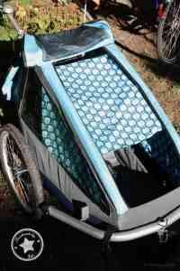 Schnittmuster Sonnenschutz Fahrradanhänger - Bild 24