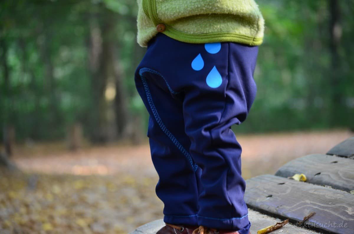 Flitz&Piep aus Softshell für kühle Herbsttage - Bild 4 | textilsucht.de