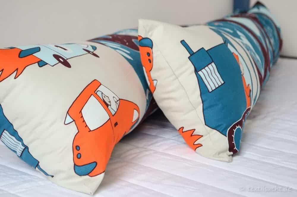 Eine neue Bettumrandung für unser XXL-Hausbett - Bild 1 | textilsucht.de