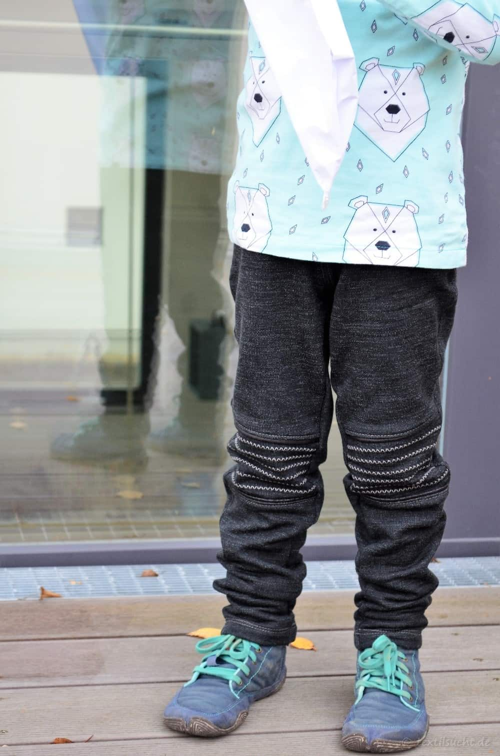 Schnittmuster Kinderhose Steppo aus Wollsweat - Bild 10 | textilsucht.de