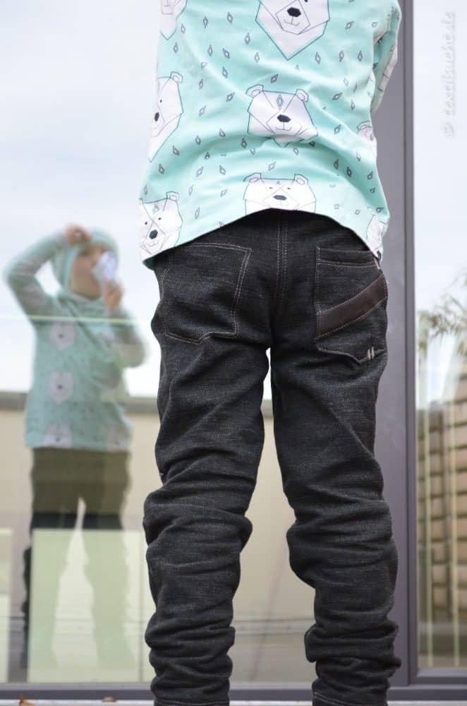 Schnittmuster Kinderhose Steppo aus Wollsweat - Bild 2 | textilsucht.de
