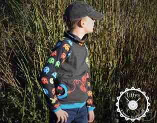 Designbeispiele Raglansweater Max&Maxi