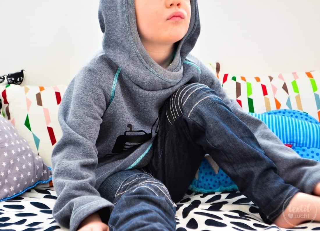 Kapuzenpullover nähen: Raglansweater Max und Maxi - Bild 7 | textilsucht.de