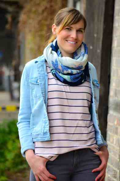 Schnittmuster Shirt Lilla mit U-Boot-Ausschnitt - Bild 7 | textilsucht.de