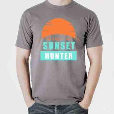 Plottervorlage Sunsethunter