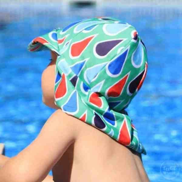 Schnittmuster Schirmmütze mit Nackenschutz
