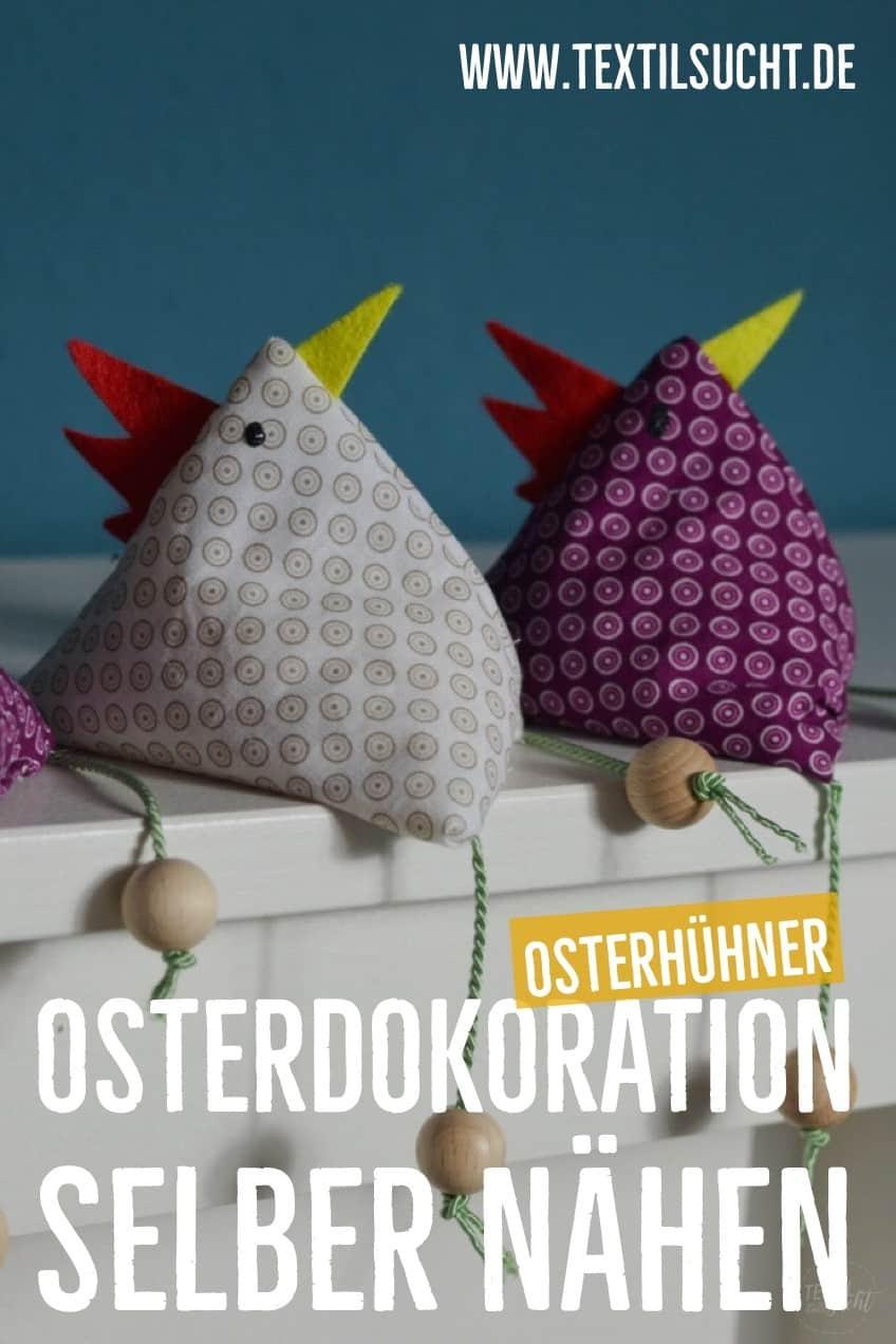Anleitung Osterhuhn nähen auf pinterest merken