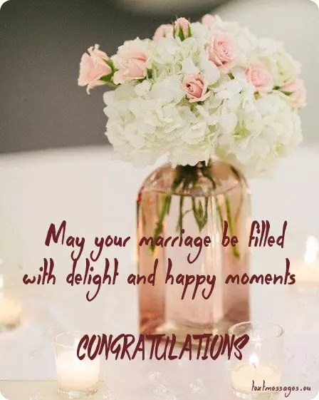 short wedding wishes quotes