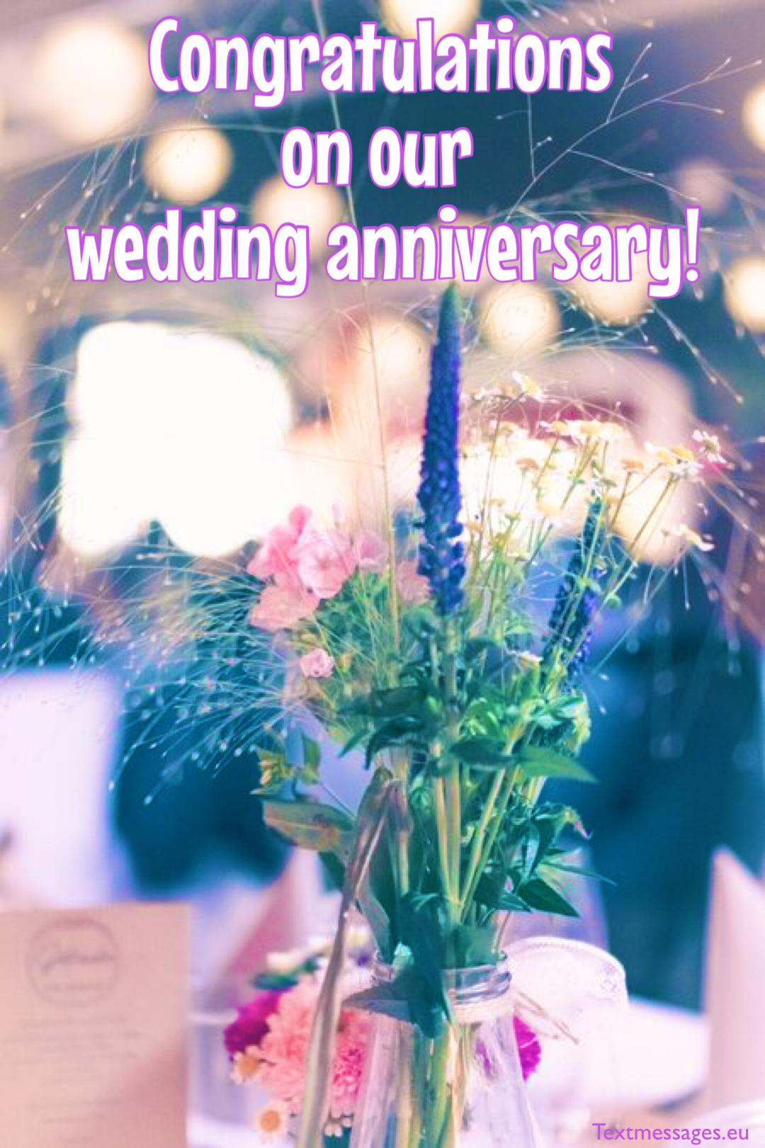 cute wedding anniversary wishes