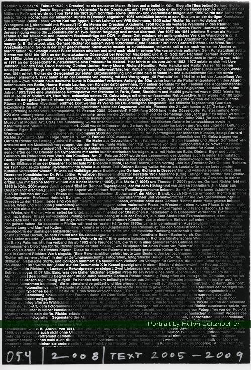 Gerhard Richter  Portrait