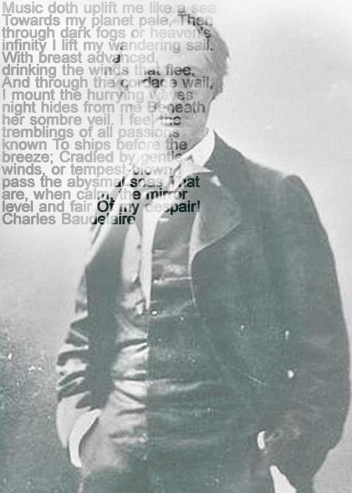 Charles Baudelaire, Text Portrait, Ralph Ueltzhoeffer (*1821)