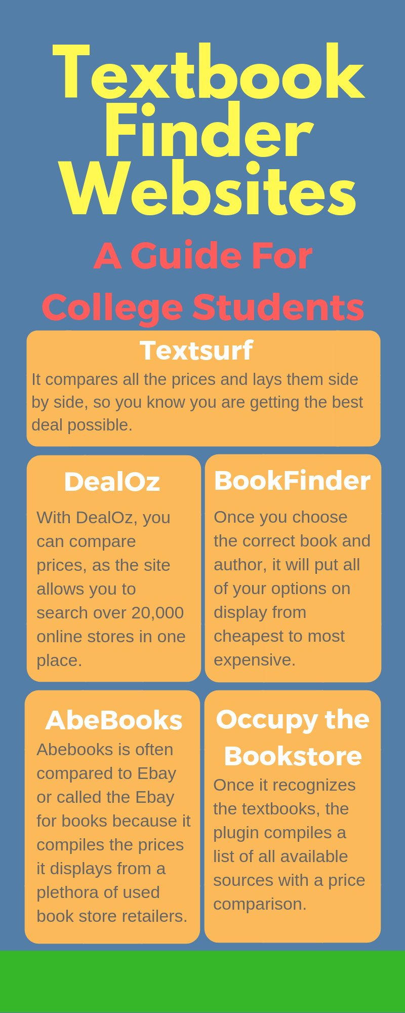 college textbooks tips to