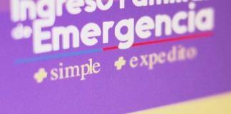 Ingreso Familiar de Emergencia IFE