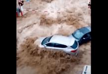 Impresionante registro de las inundaciones en Bélgica