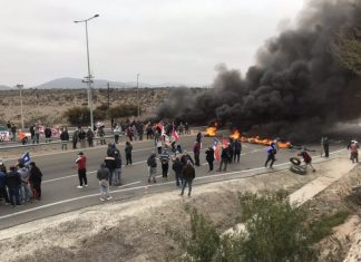 Pescadores de Coquimbo protestaron por el Bono Pyme