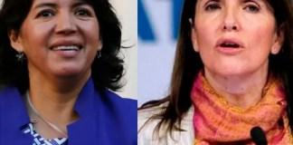 Yasna Provoste y Paula Narváez marcaron sus diferencias