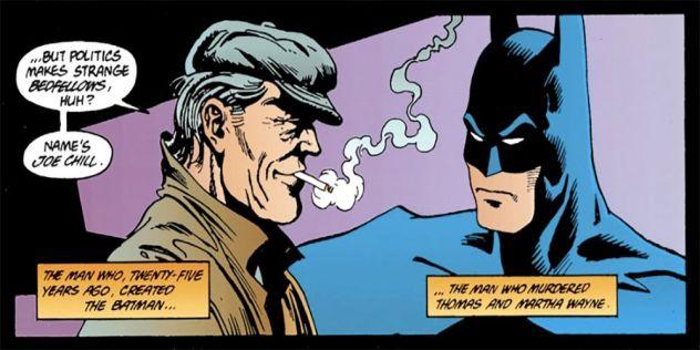 Batman con Joe Chill comics