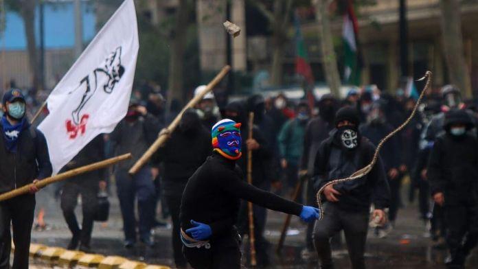 En la marcha mapuche realizada el fin de semana recién pasado murió