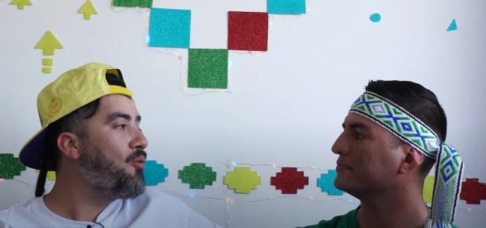 Vitoco de Sonora 5 Estrellas junto a Luanko en un nuevo capítulo de Rapeando aprendo mapudungun