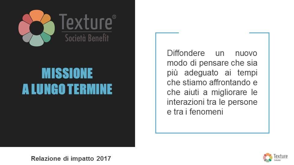 Texture - Impact Report anno 2017 - Mission