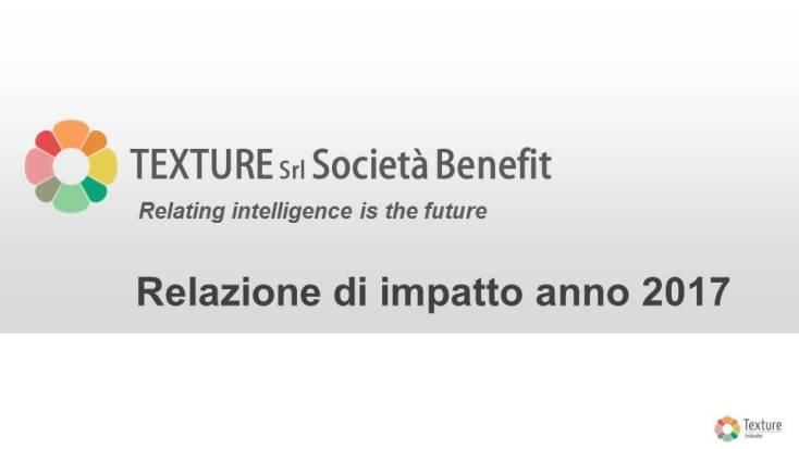Texture - Impact Report anno 2017