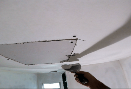 How to finishing drywall patch-DIY Drywall Video- (Part 2)