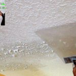 how to match knockdown texture on a drywall ceiling repair