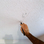 How to repair your cracked drywall ceiling trick | So that crack never comes back!