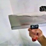 How to touch up skim coat before sanding skim coated walls
