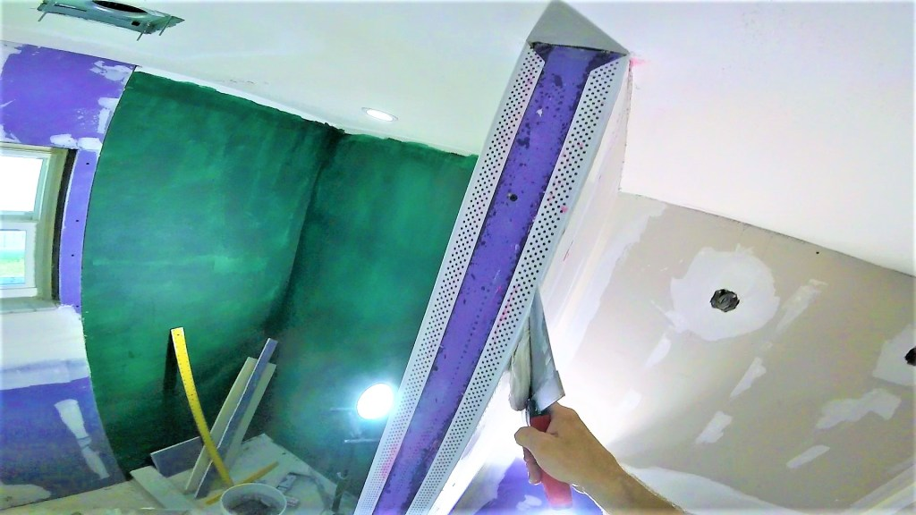How to install and finish vinyl corner bead drywall finishing