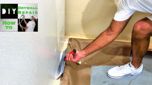 Skim coating walls tutorial