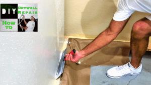 Skim coating walls tutorial