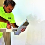 How to easily skim coat walls by hand!