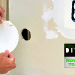 Easiest way to repair a drywall hole ever!
