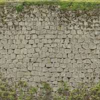 BrickJapanese0025 - Free Background Texture - castle wall ...