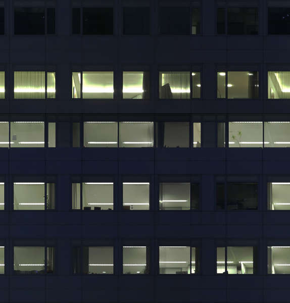 HighRiseNight0002  Free Background Texture  building facade high rise night dark window