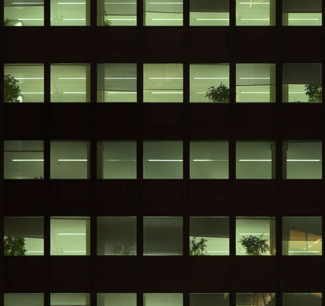 HighRiseNight0008  Free Background Texture  building facade high rise night dark window