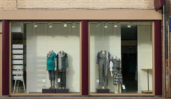 Shops0024  Free Background Texture  shops facade shop building store window red blue purple