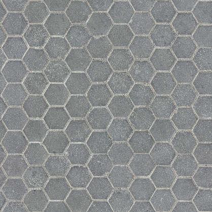 aerial street streets tiles hexagonal