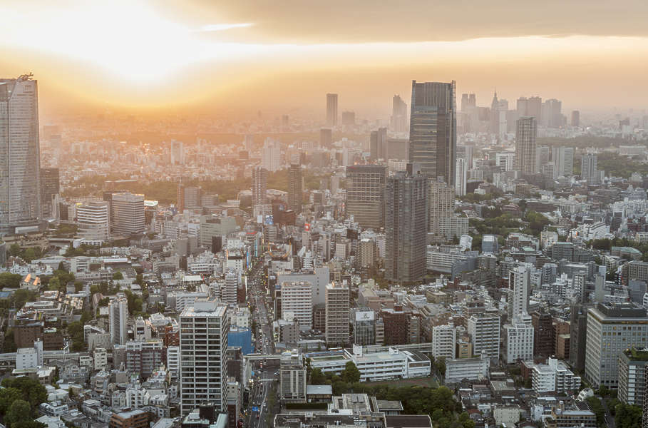 LandscapeCity0108  Free Background Texture  aerial city buildings landscape background japan