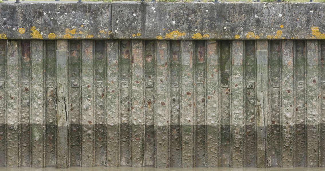 MetalBulkheads0077  Free Background Texture  metal dock harbour seaside bulkhead waterside